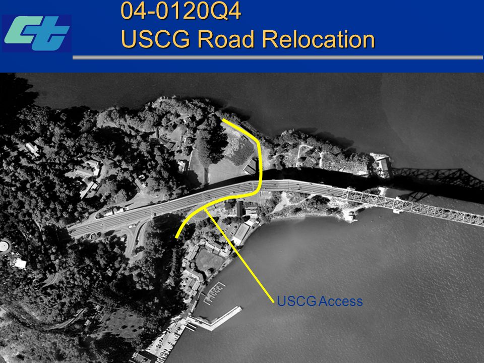 SFOBB East Span Seismic Safety Project 04-0120Q4 USCG Road Relocation USCG Access