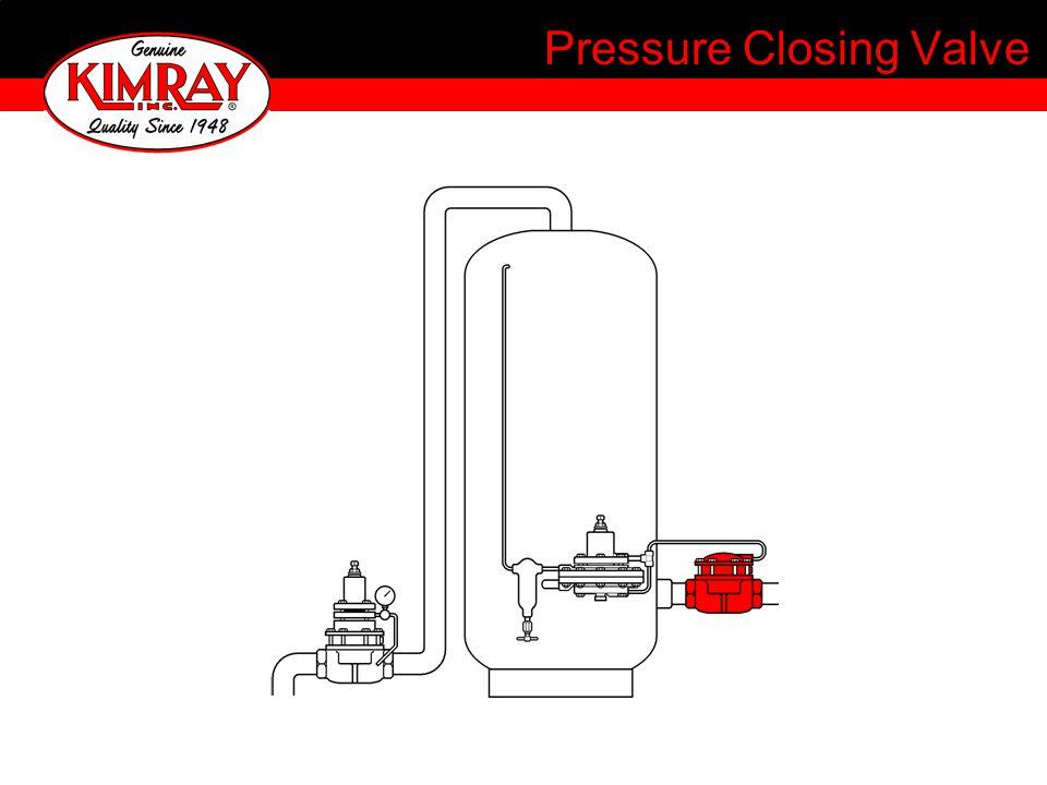 Pressure Closing Valve