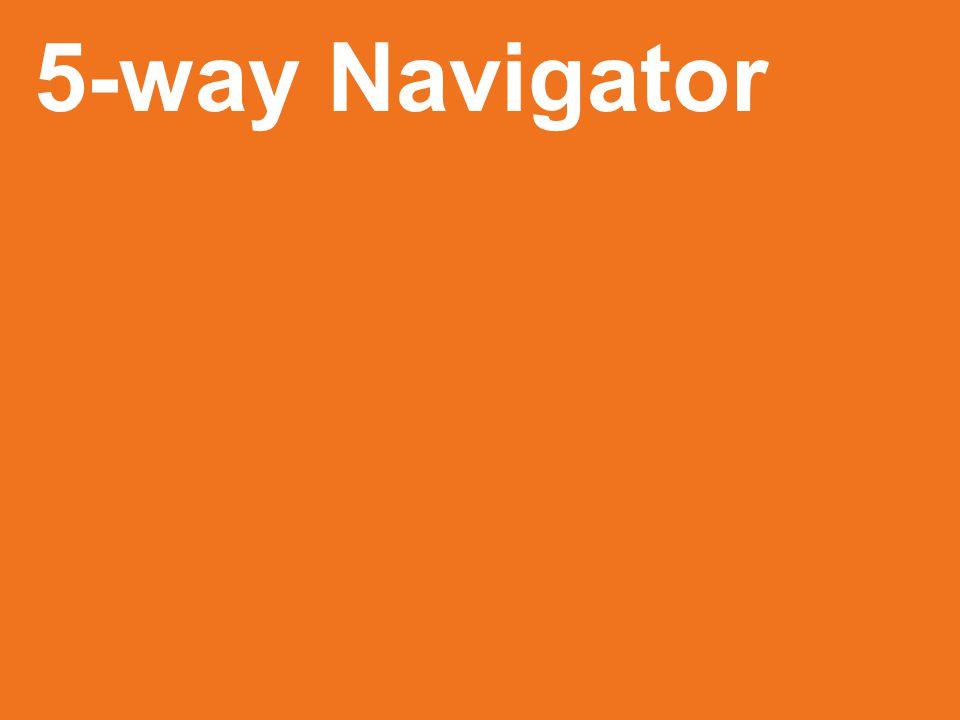 5-way Navigator