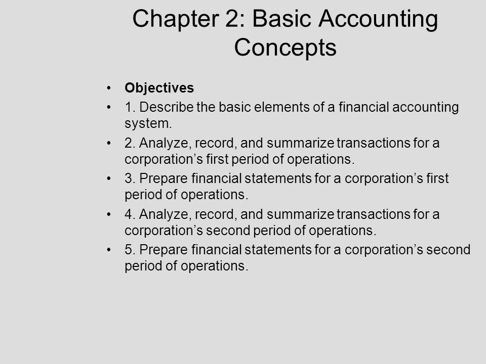 Types of classifications of accounts: A=Assets L=Liabilities I=Income (revenue) C=Capital (Stockholder's Equity) E=Expense A=Debit L=Credit I=Credit C=Credit E=Debit