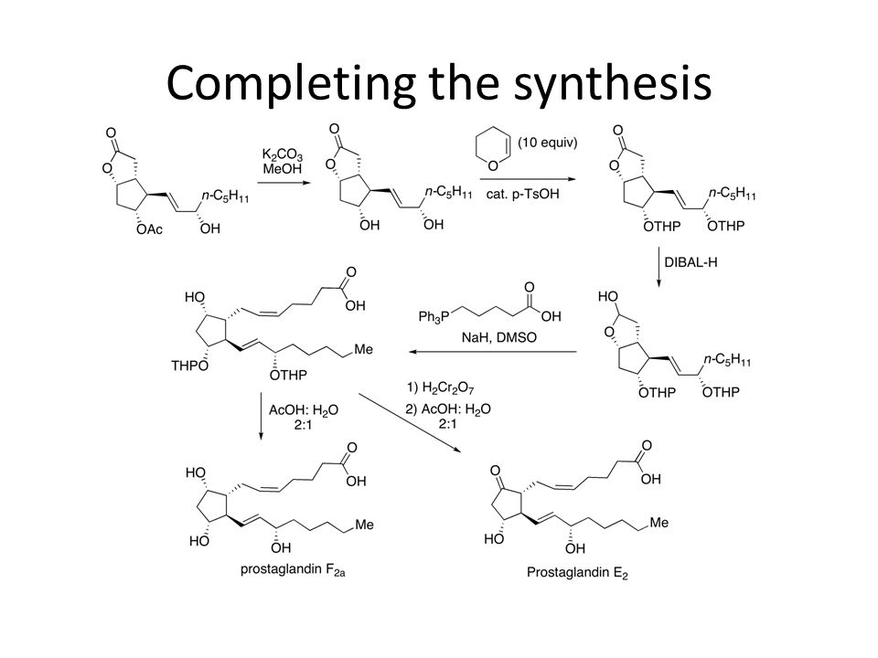 Completing the synthesis