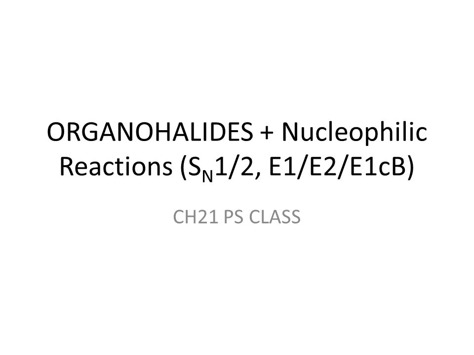Preparation of Organohalides From ALKENES C=C [just review old lessons] FOR TERTIARY ALCOHOLS, we can simply use H-X (gas) X=Cl,Br in ether, 0°C