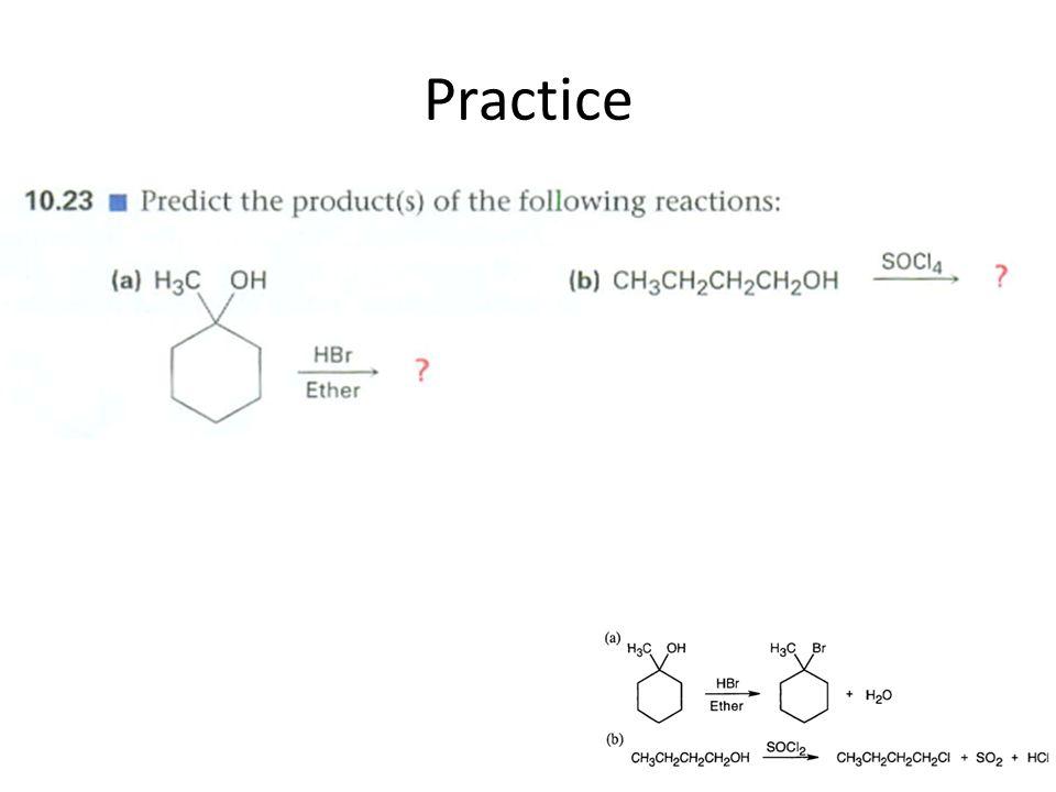 Factors that affect S N 2 RXNS: THE NUCLEOPHILE