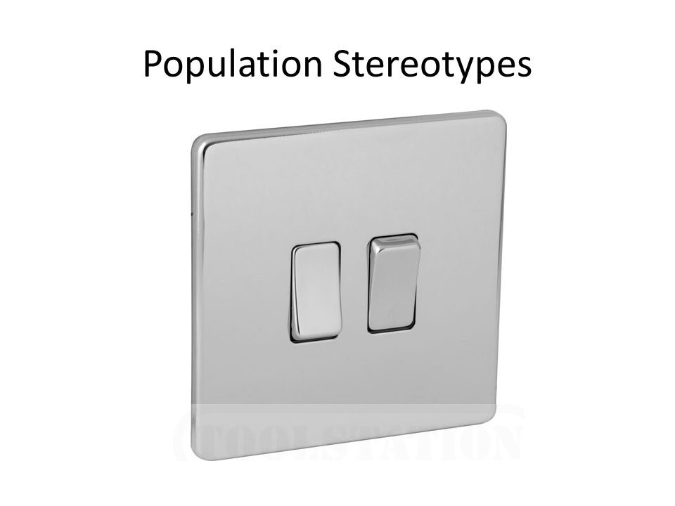 Population Stereotypes