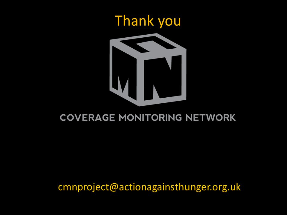 Thank you Jose Luis Alvarez Morán cmnproject@actionagainsthunger.org.uk