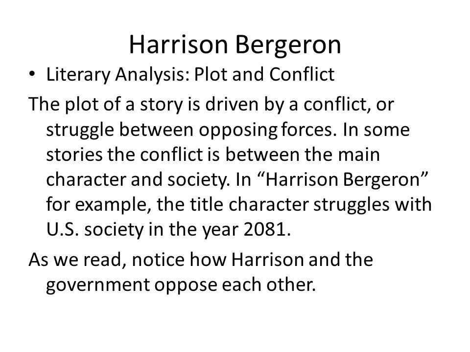 harrison bergeron 4 essay