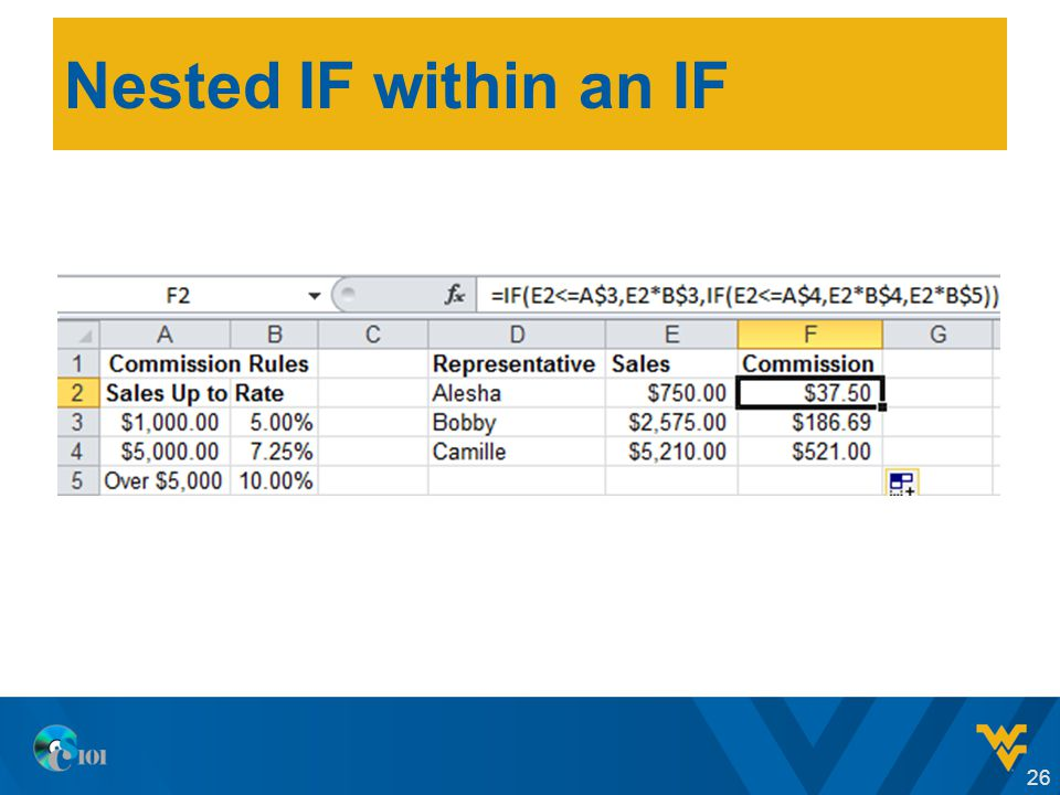 Nested IF within an IF 26