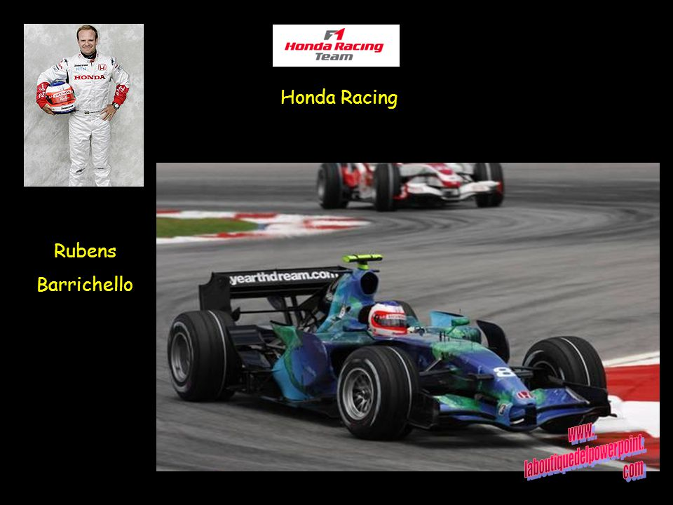Honda Racing Rubens Barrichello