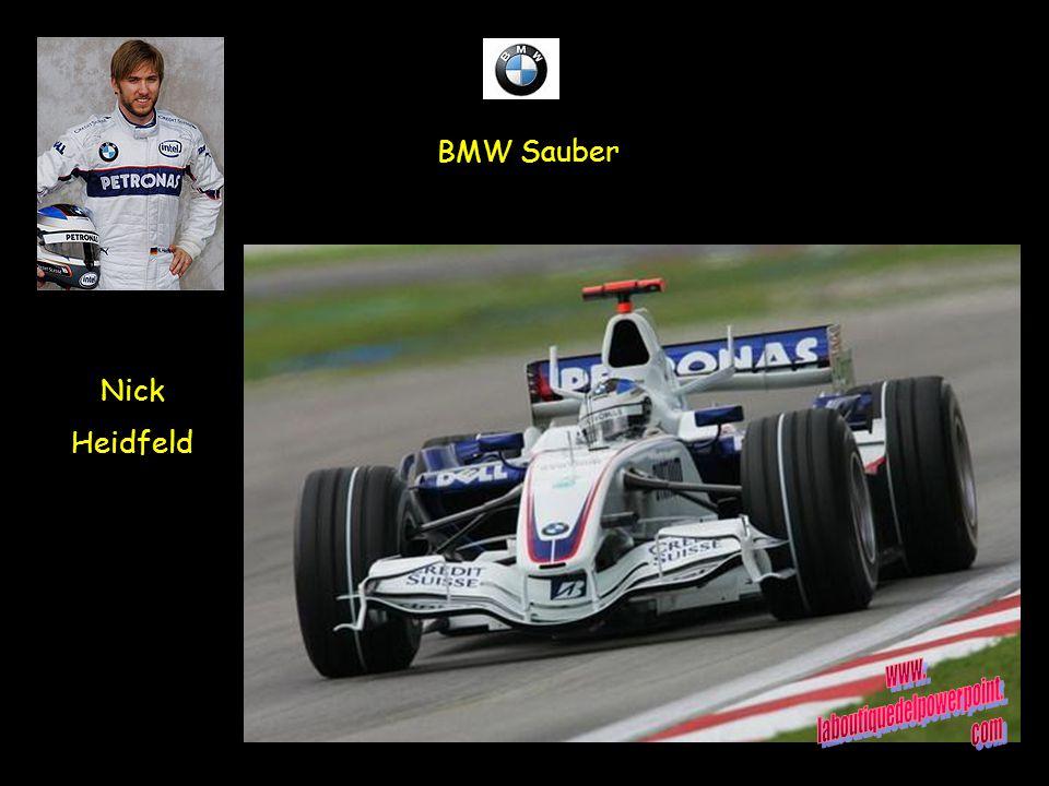 BMW Sauber Nick Heidfeld