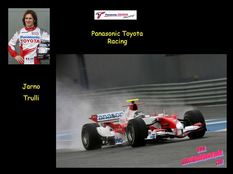 Jarno Trulli Panasonic Toyota Racing
