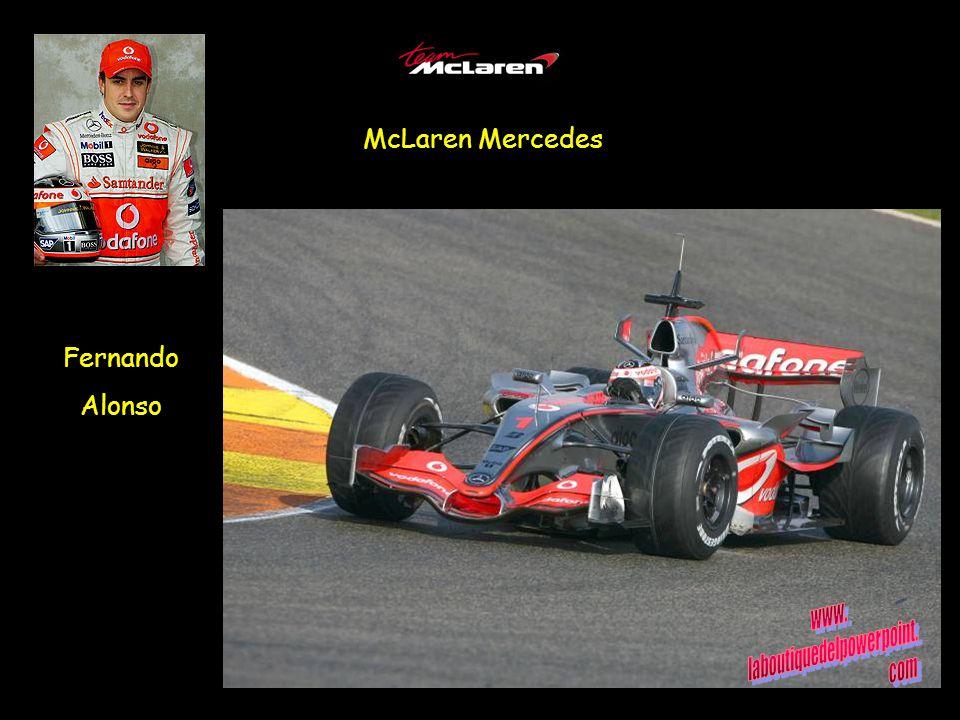 McLaren Mercedes Fernando Alonso