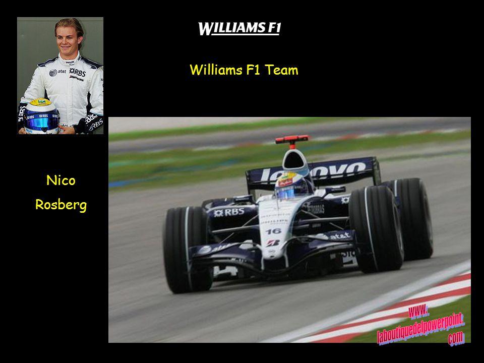 Williams F1 Team Nico Rosberg