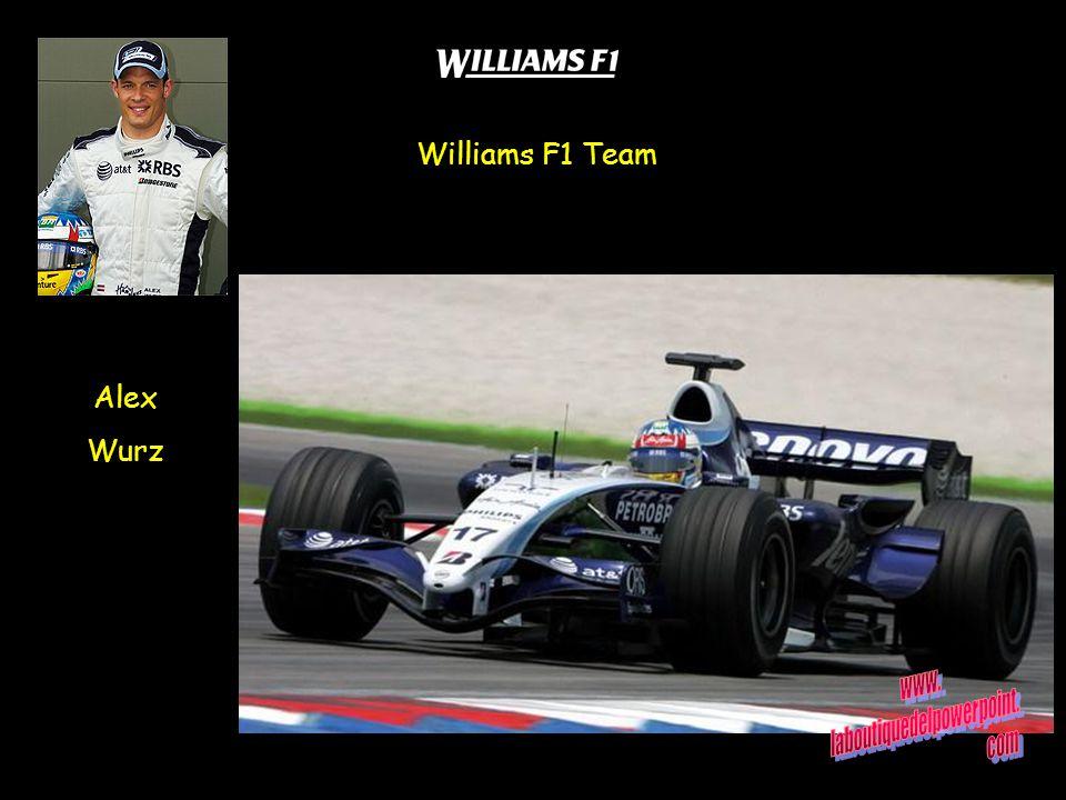 Alex Wurz Williams F1 Team