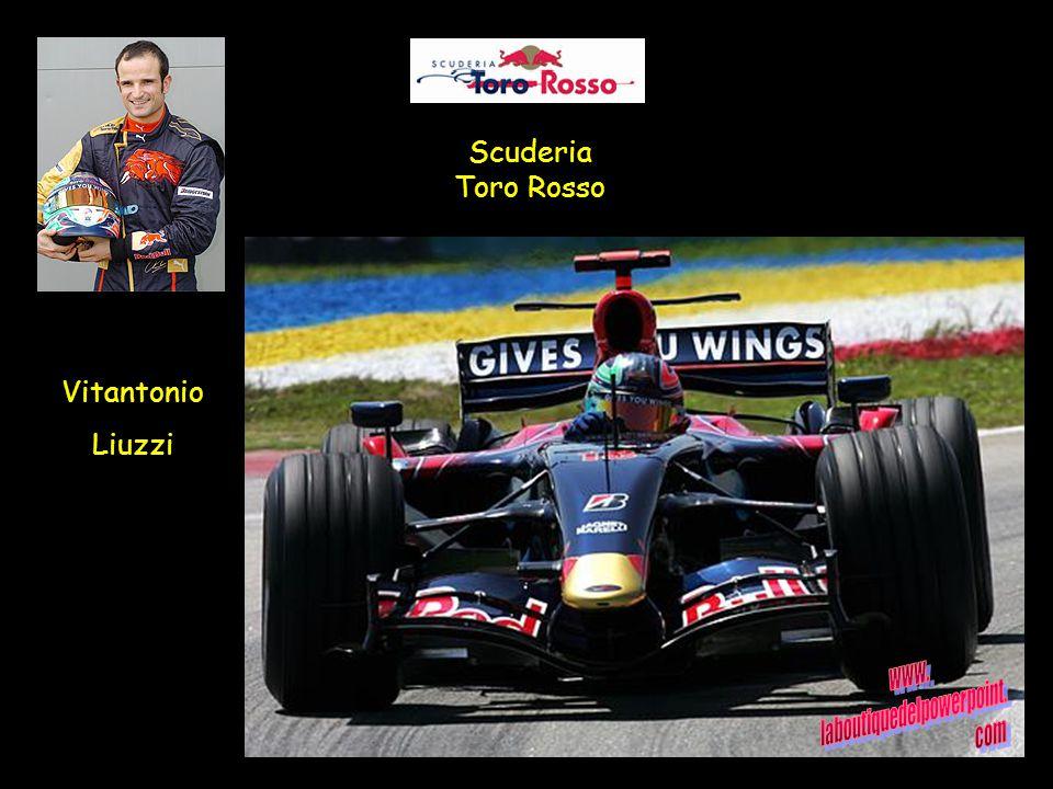 Scuderia Toro Rosso Vitantonio Liuzzi