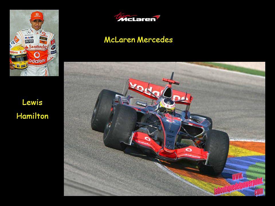 McLaren Mercedes Lewis Hamilton