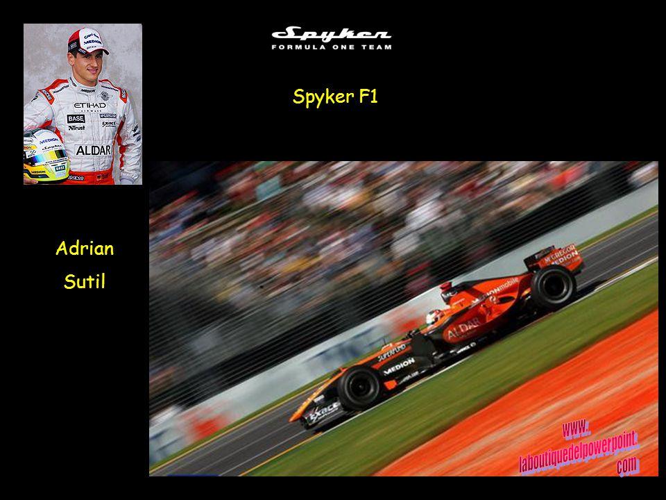 Adrian Sutil Spyker F1