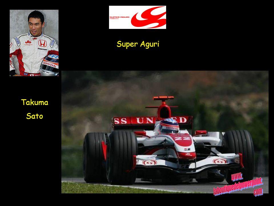 Super Aguri Takuma Sato