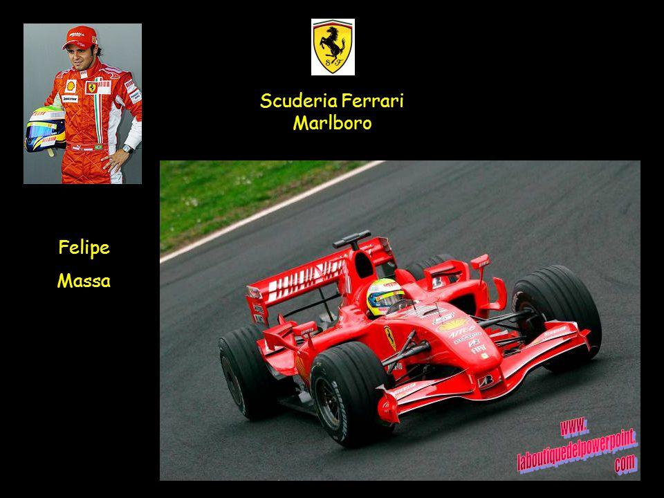 Felipe Massa Scuderia Ferrari Marlboro