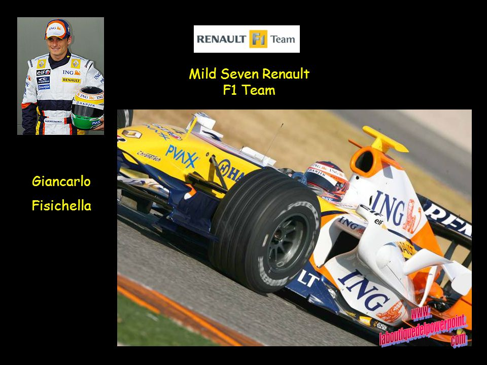 Mild Seven Renault F1 Team Giancarlo Fisichella
