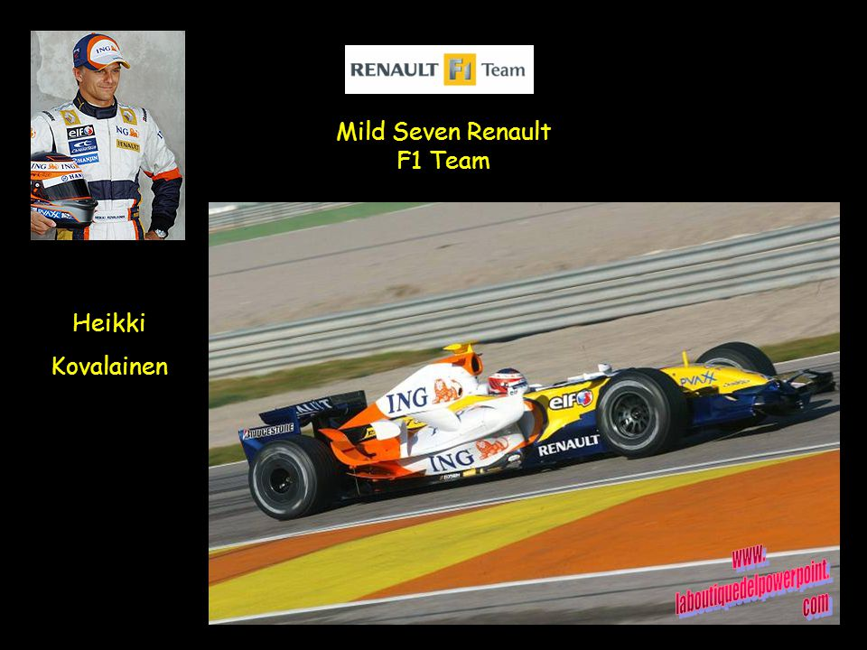 Heikki Kovalainen Mild Seven Renault F1 Team