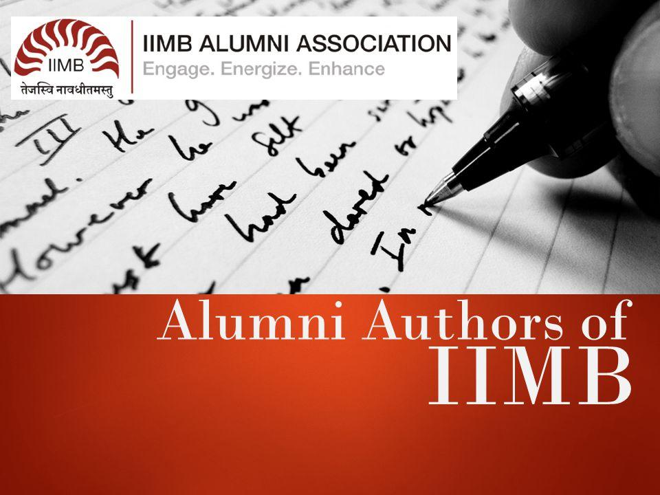 Alumni Authors of IIMB