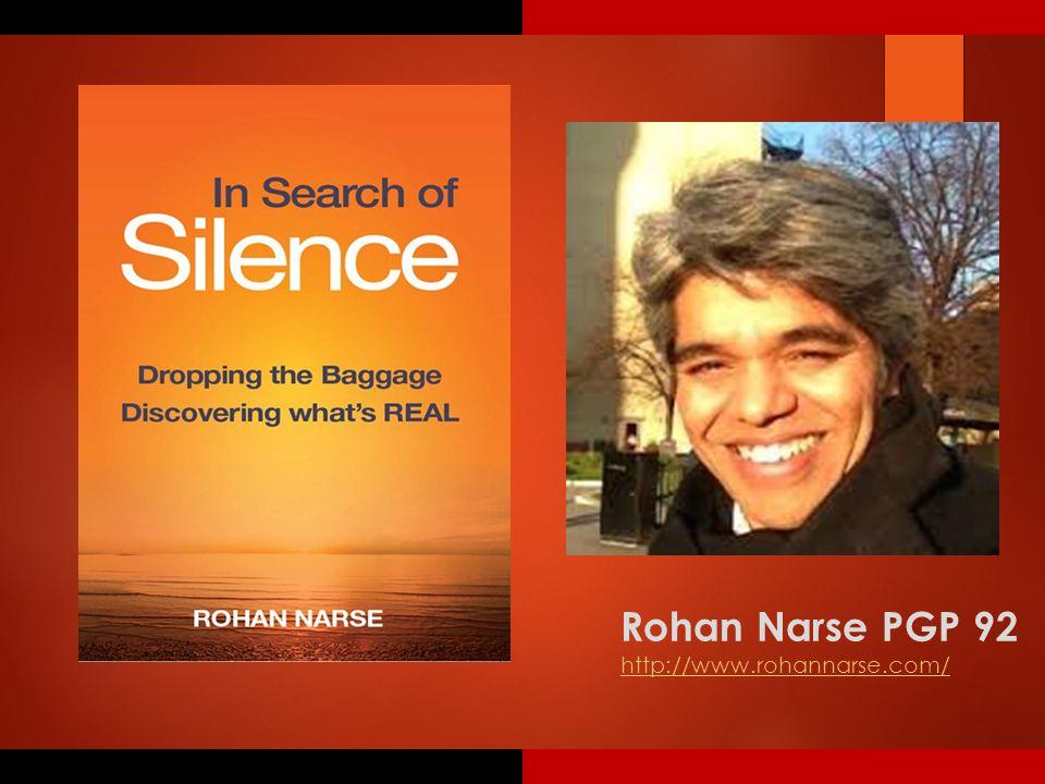 Rohan Narse PGP 92 http://www.rohannarse.com/