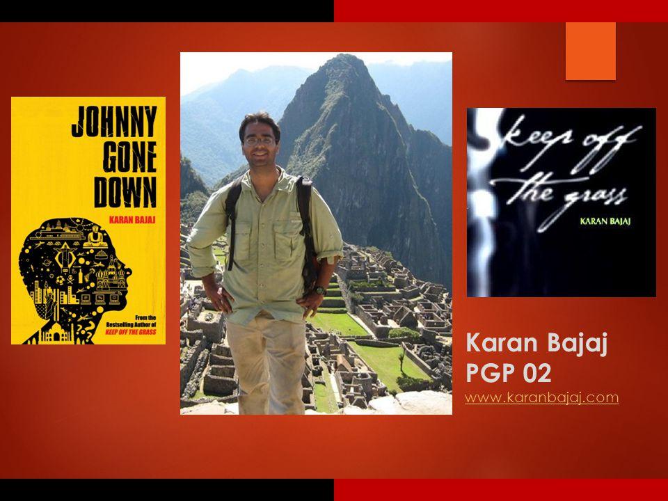 Karan Bajaj PGP 02 www.karanbajaj.com