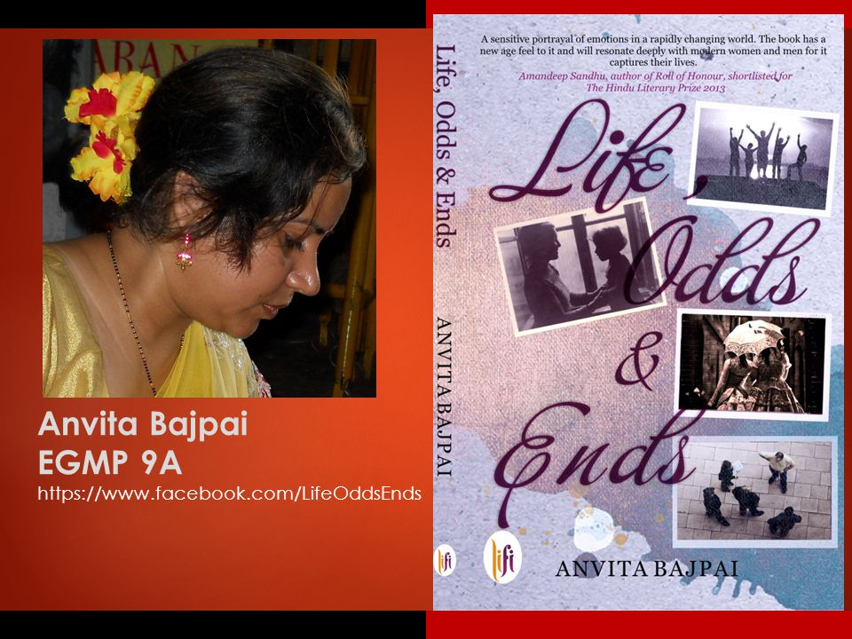Anvita Bajpai EGMP 9A https://www.facebook.com/LifeOddsEnds