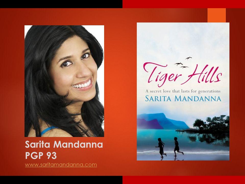 Sarita Mandanna PGP 93 www.saritamandanna.com