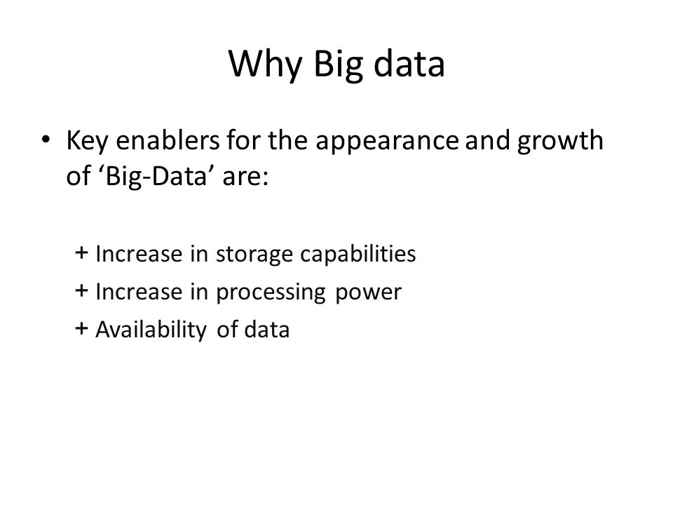 Cloud and big data In fact from a Cloud perspective I believe that the transfer and archiving of Big Data will become a key capability of a manufacturing focused cloud environment.