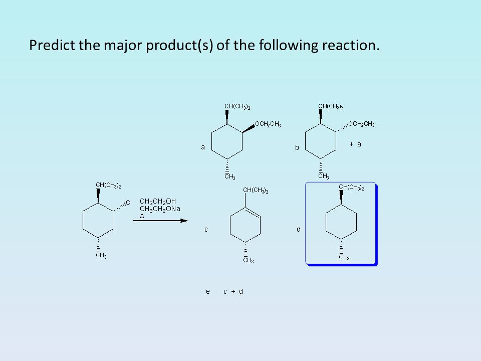Predict the major product(s) of the following reaction.