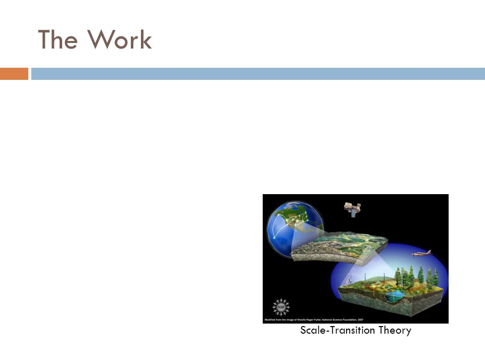 The Work Scale-Transition Theory