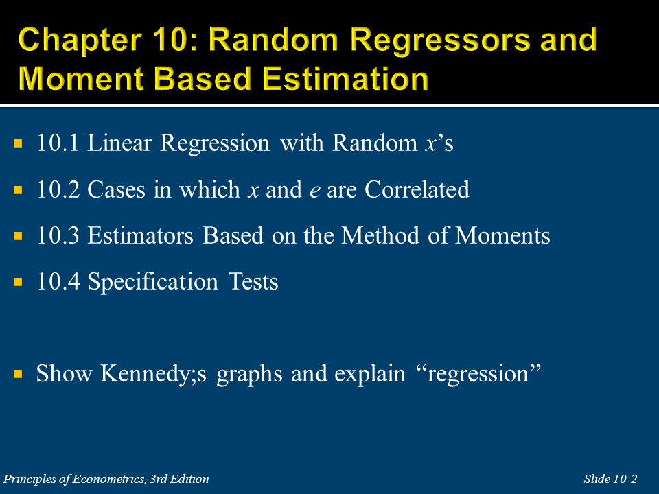 The assumptions of the simple linear regression are:  SR1.
