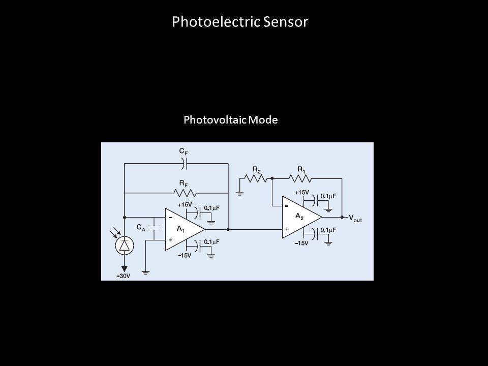 Photovoltaic Mode Photoelectric Sensor
