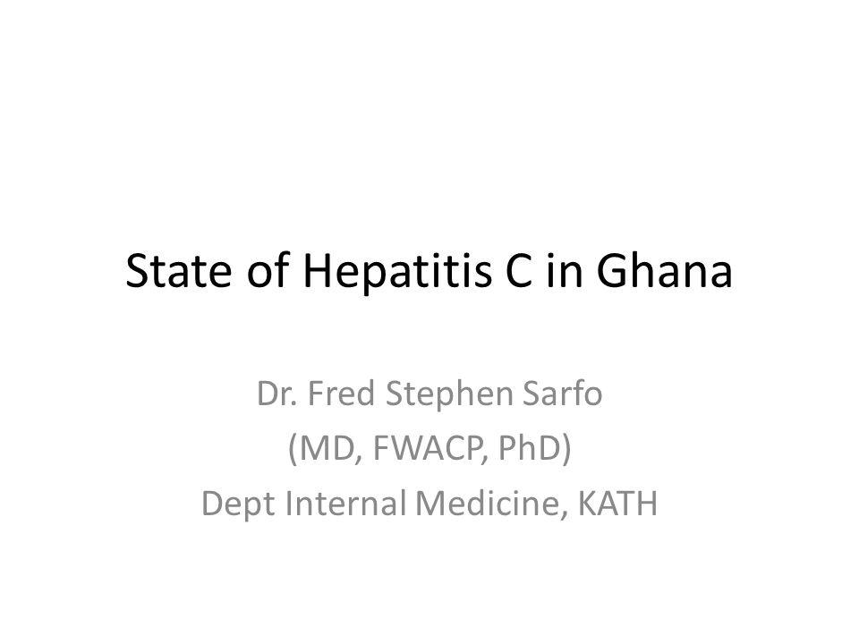 Clades/Subtypes of HCV genotype 2 2 3 4 1