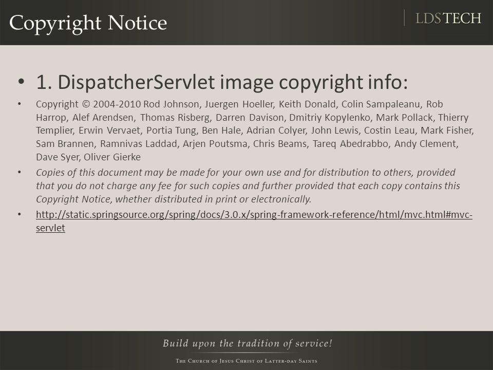 Copyright Notice 1.