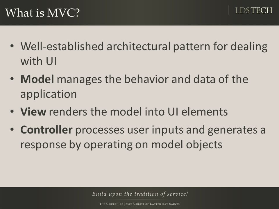 ModelMap Add it as a parameter to your controller method We'd consume it in our JSP like this: public String doController(ModelMap modelMap){ modelMap.addAttribute(user); modelMap.addAttribute( otherUser , user); return index ; } User: ${user} Other User: ${otherUser}
