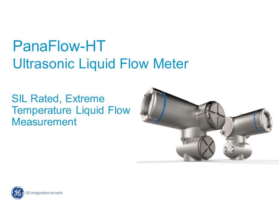PanaFlow-HT Ultrasonic Liquid Flow Meter SIL Rated, Extreme Temperature Liquid Flow Measurement