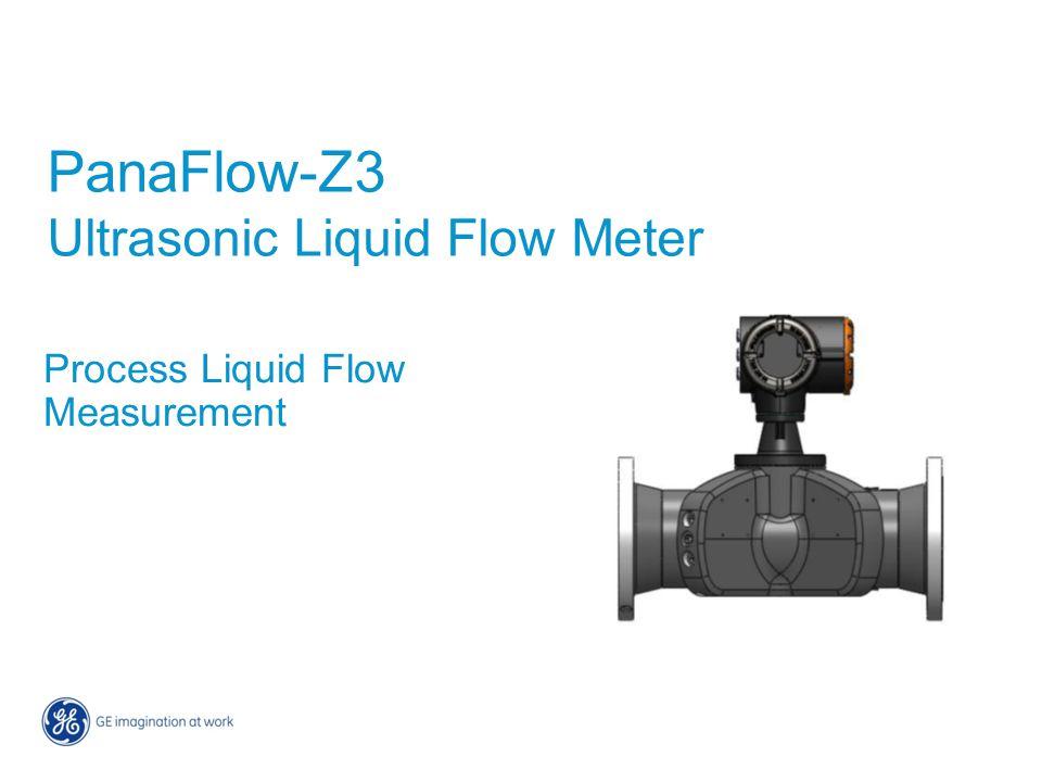 PanaFlow-Z3 Ultrasonic Liquid Flow Meter Process Liquid Flow Measurement