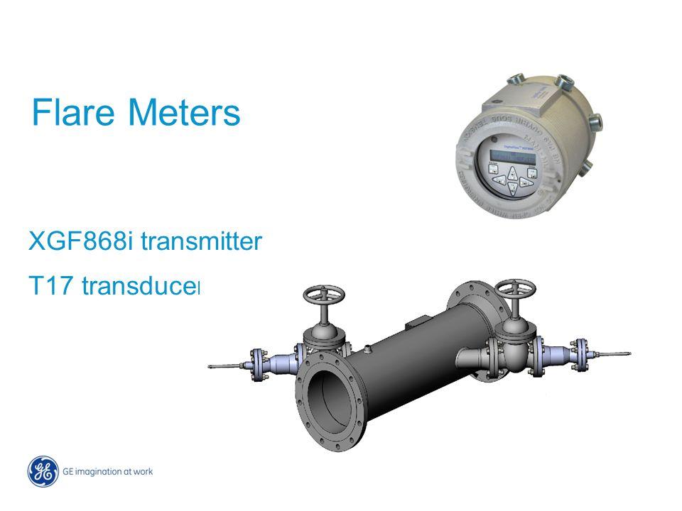 Flare Meters XGF868i transmitter T17 transducer