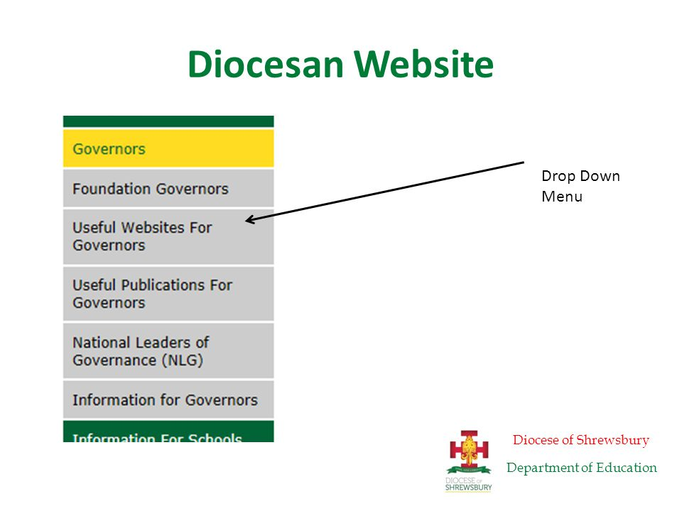 Diocesan Website Diocese of Shrewsbury Department of Education