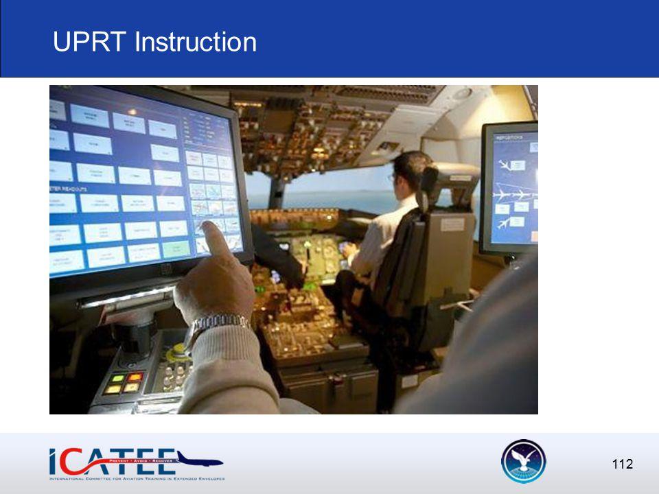 112 UPRT Instruction
