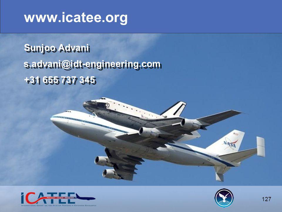 127 www.icatee.org 127 s.advani@idt-engineering.com +31 655 737 345 Sunjoo Advani