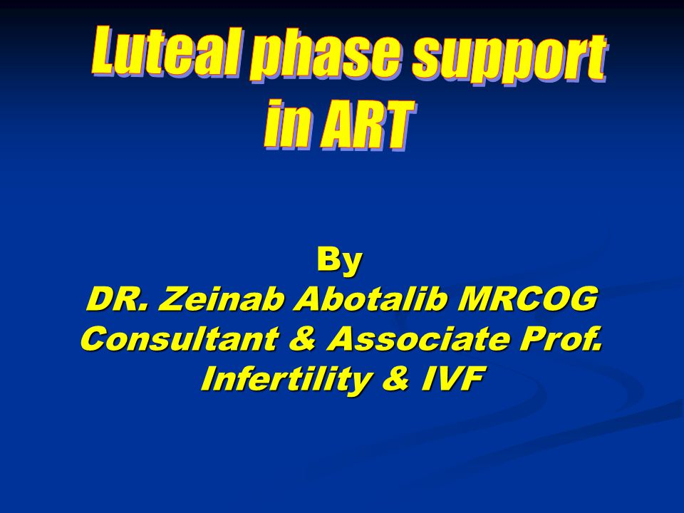 The cause of the Luteal phase defect in stimulated IVF cycles Debatable for more than tow decades Debatable for more than tow decades Removal of large quantities of granulose cells during the OR might diminish an important sources of progesterone syntheses Removal of large quantities of granulose cells during the OR might diminish an important sources of progesterone syntheses This was not proven in natural cycles.