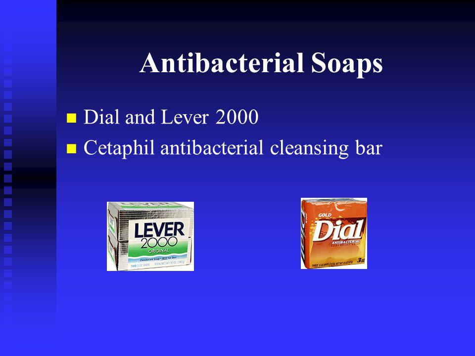 Antibacterial Soaps Dial and Lever 2000 Cetaphil antibacterial cleansing bar
