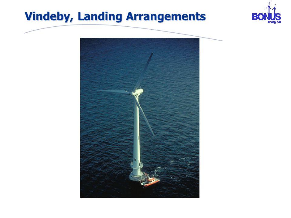 Vindeby, Landing Arrangements