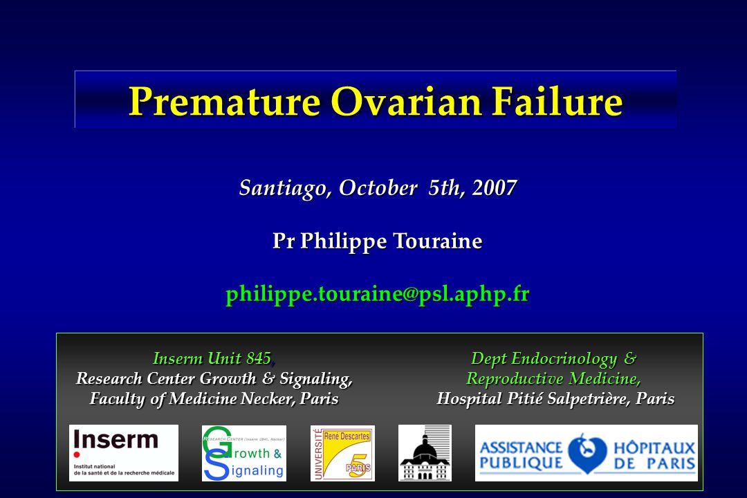 Primordial Primary Ovulation Hsueh, Endocrine Review, 2000 Antral Secondary Atresia Blocade of follicular maturation