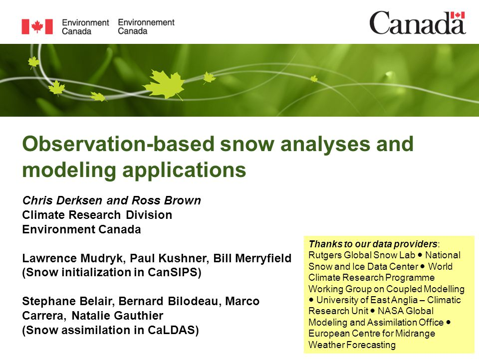 SCDfal l SCDs pr avg std 8-model average and stdev in EYE for Fall and Spring snow cover duration Earliest EYE over coastal margins of continents with high precipitation regimes e.g.