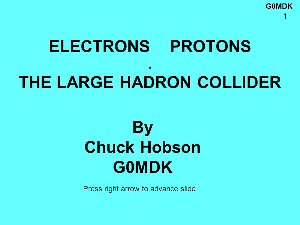 G0MDK 22 HOW DOES THE LHC WORK.