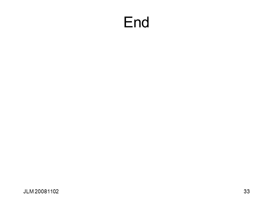 33 End JLM 20081102